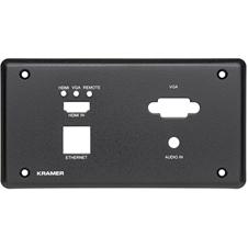 Kramer KIT-401T EU PANEL SET - Лицевая панель для передатчика KIT-401T, черного цвета