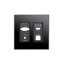 Kramer KIT-401T US PANEL SET - Лицевая панель для передатчика KIT-401T, черного цвета
