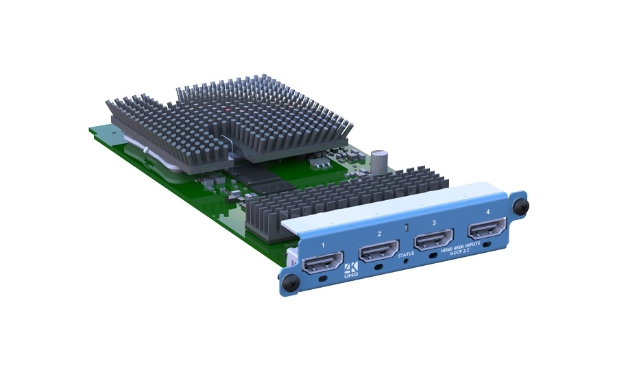 tvONE CM2-HDMI-4K-4IN - Модуль ввода 4 x HDMI 4K для видеопроцессора CORIO®master2