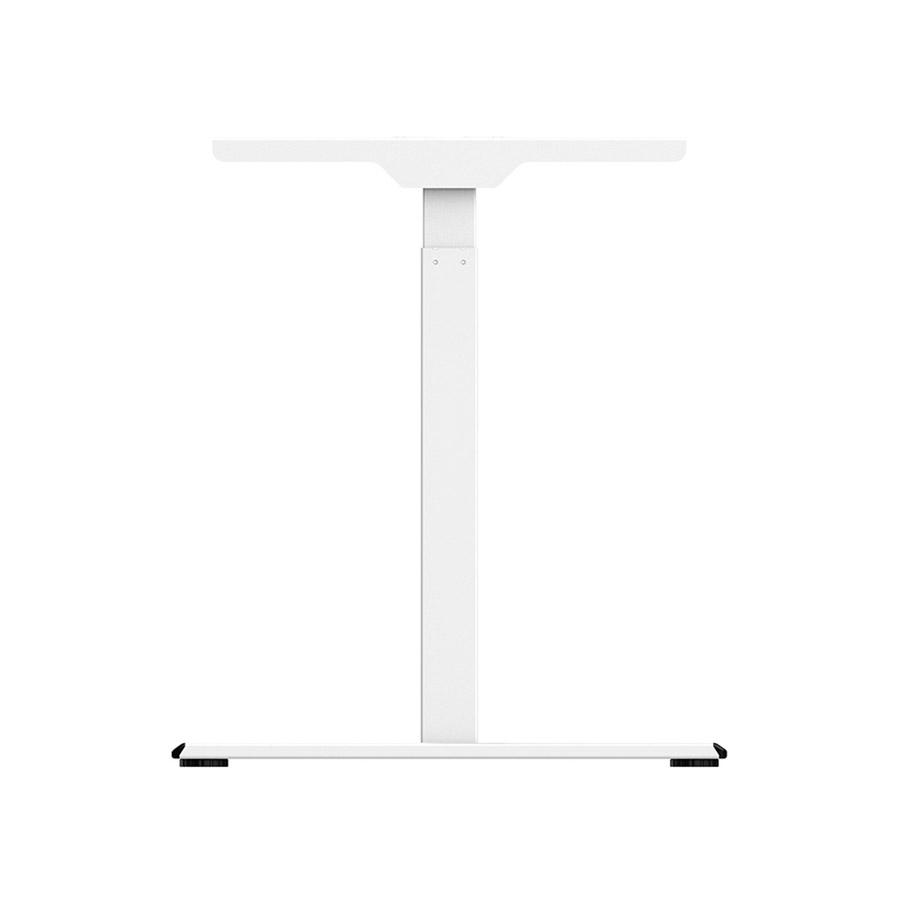 ErgoFount BSSD-L10-18/15 W - Основание стола для работы стоя и сидя, с электроприводом на телескопических опорах 710–1200 мм, макс. нагрузка 100 кг, белое