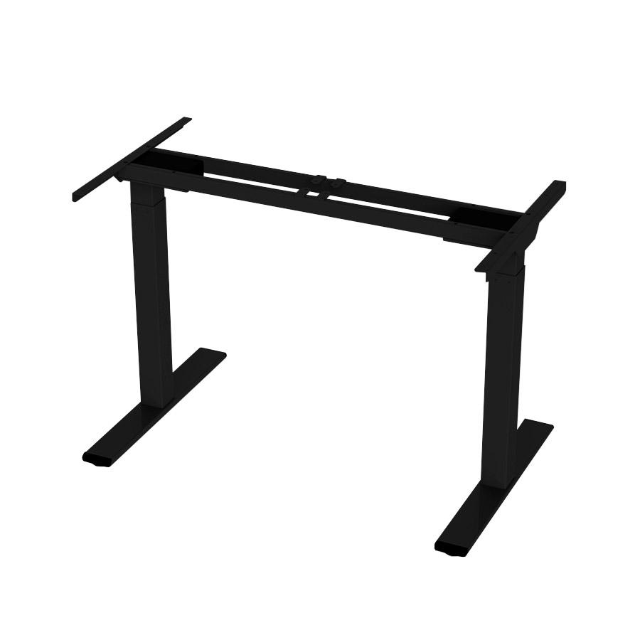 ErgoFount BSSD-L10-18/15 B - Основание стола для работы стоя и сидя, с электроприводом на телескопических опорах 710–1200 мм, макс. нагрузка 100 кг, черное
