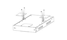 Atlas IED LC372WMK - Монтажный комплект для установки LC372SR на поверхность