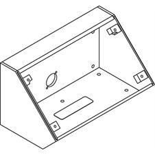 Atlas IED IEDA528HBBDT - Угловой настольный корпус для установки микрофонной станции IEDA528HFM системы GLOBALCOM