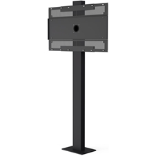 Vogels POF 7602 - Стационарный уличный стенд для установки дисплея LG 55XE4F на крепление POW 1602
