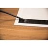 ABL 2U210MAX - Короб для установки розеточных станций серии Link под стол с лючком длиной 447 мм, белый