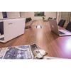 ABL 2U220MIN - Короб для установки розеточных станций серии Link под стол с лючком длиной 247 мм, серебристый